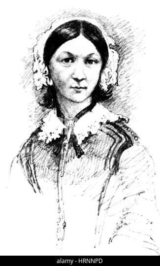 Florence Nightingale Nurse Stock Photos & Florence