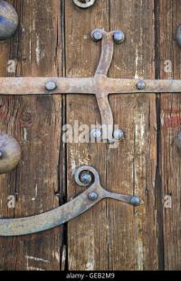 Hinge Medieval Door Stock Photos & Hinge Medieval Door ...