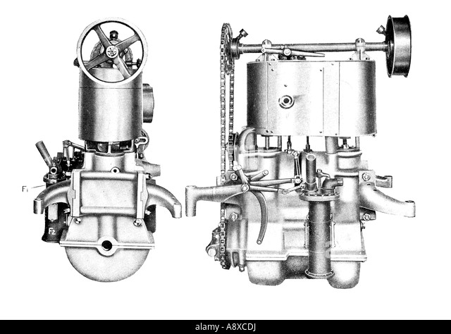 Car Engine Diagram Stock Photos & Car Engine Diagram Stock