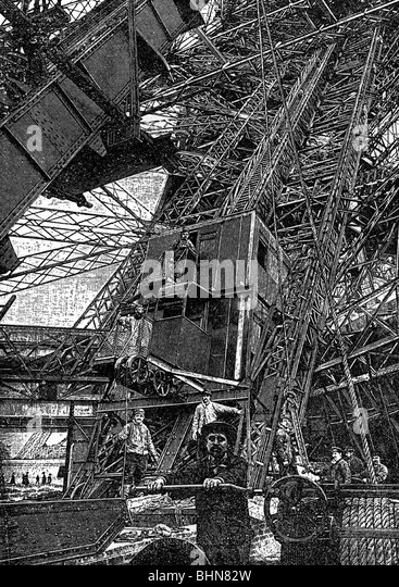 Incandescent Eiffel Tower