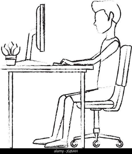 Computer Character Stock Photos & Computer Character Stock