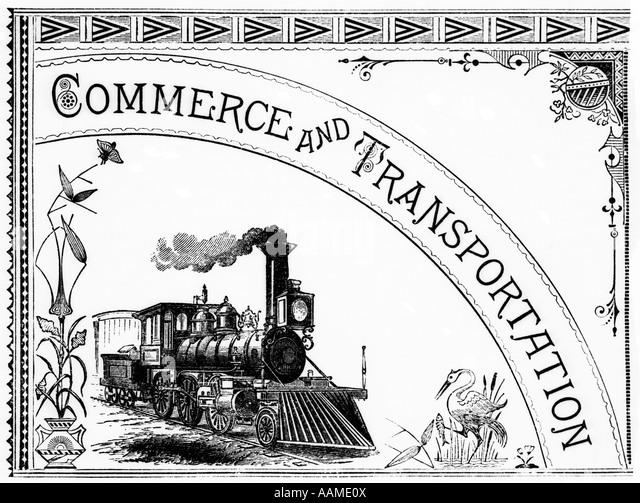 Steam Train Illustration Stock Photos & Steam Train