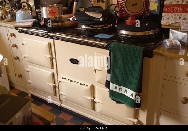 Kitchen Aga Cooker Stockfotos & Kitchen Aga Cooker Bilder - Alamy