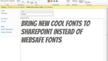 Typography First - Make your SharePoint content readable and