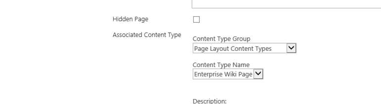 Associated Content Type