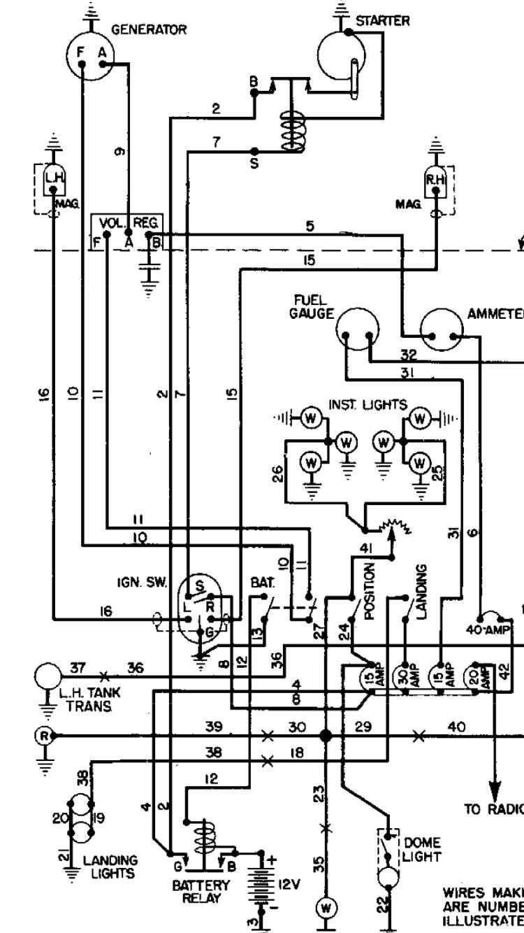 hight resolution of wiring still stinson station wagon n9391k restoration stinson 108 wiring diagram plastic tie vs wax