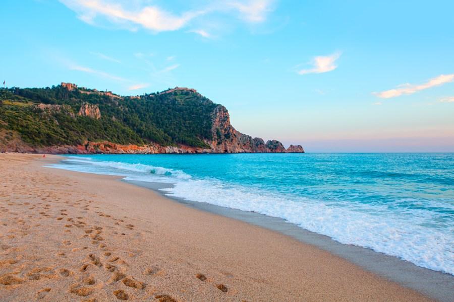 пляж клеопатры алания фото