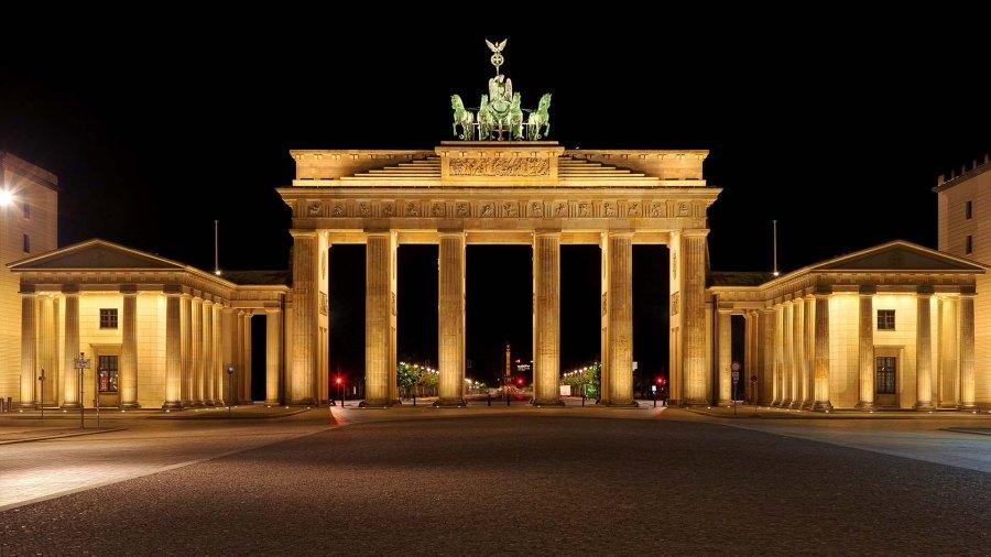 Бранденбургские ворота Берлин фото