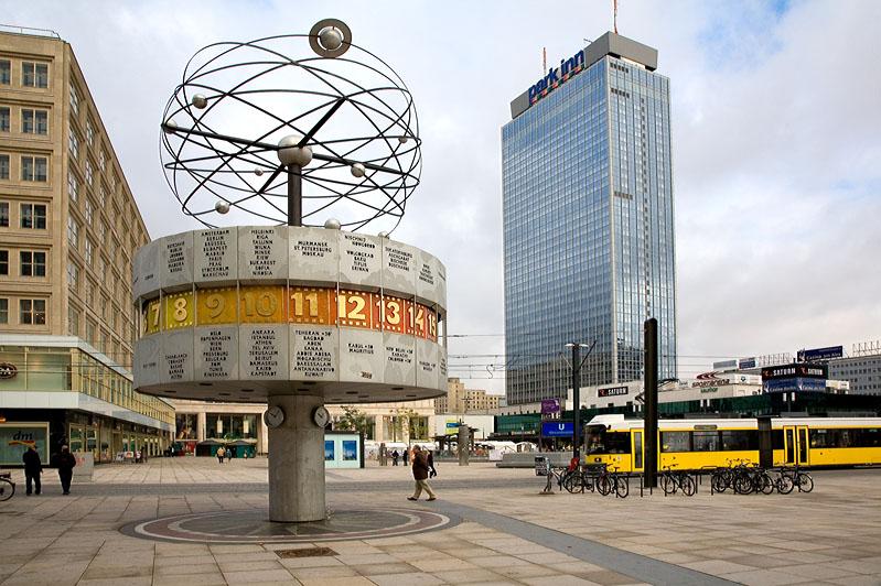 Александерплатц Берлин фото