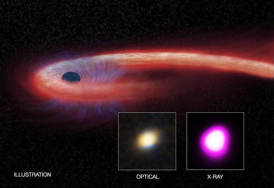 Прожорливая черная дыра
