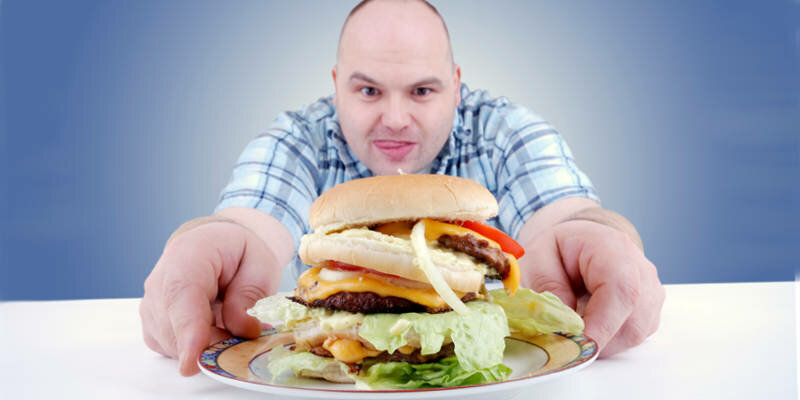 вред от переедания, вред переедания