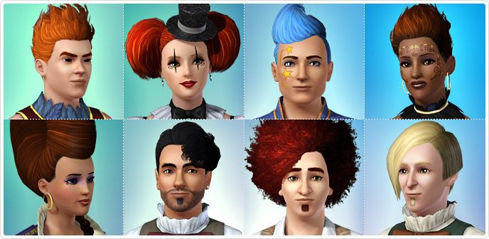 Hair Store The Sims™ 3