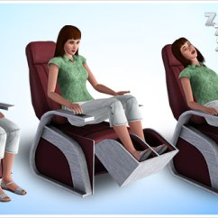 Massage Chair Store Recliner With Ottoman Sharper Sim Foot The Sims 3