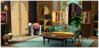 India Inspirations Living Room Set - Store - The Sims 3