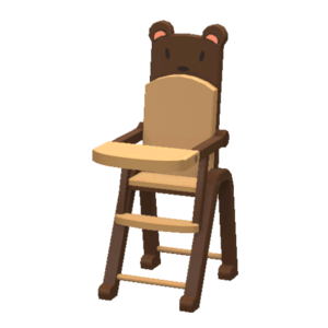 Playground High Chair  Store  The Sims 3