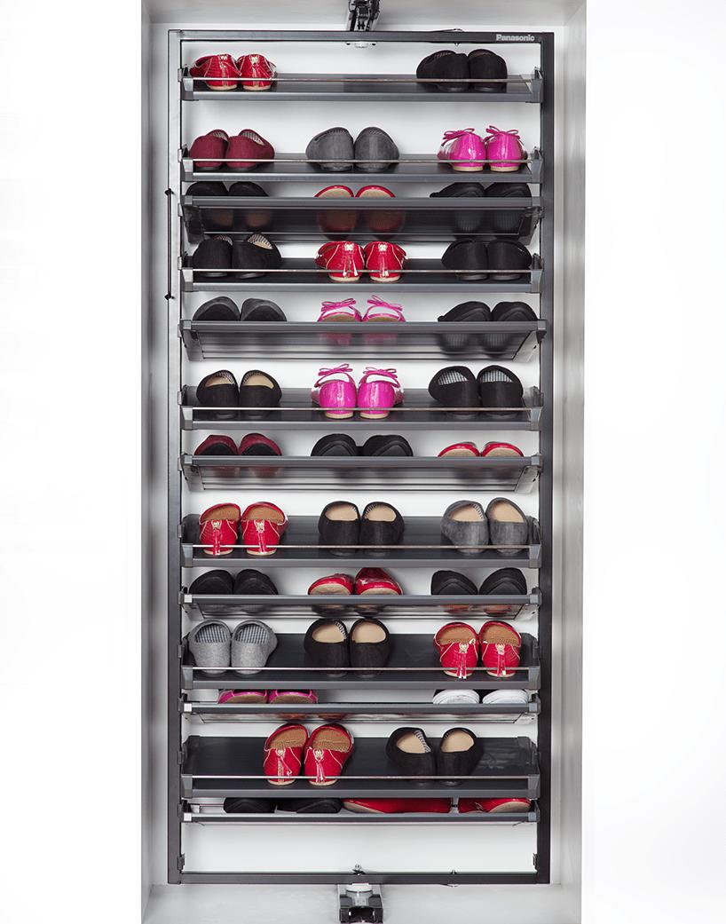 range chaussures pivotant support de