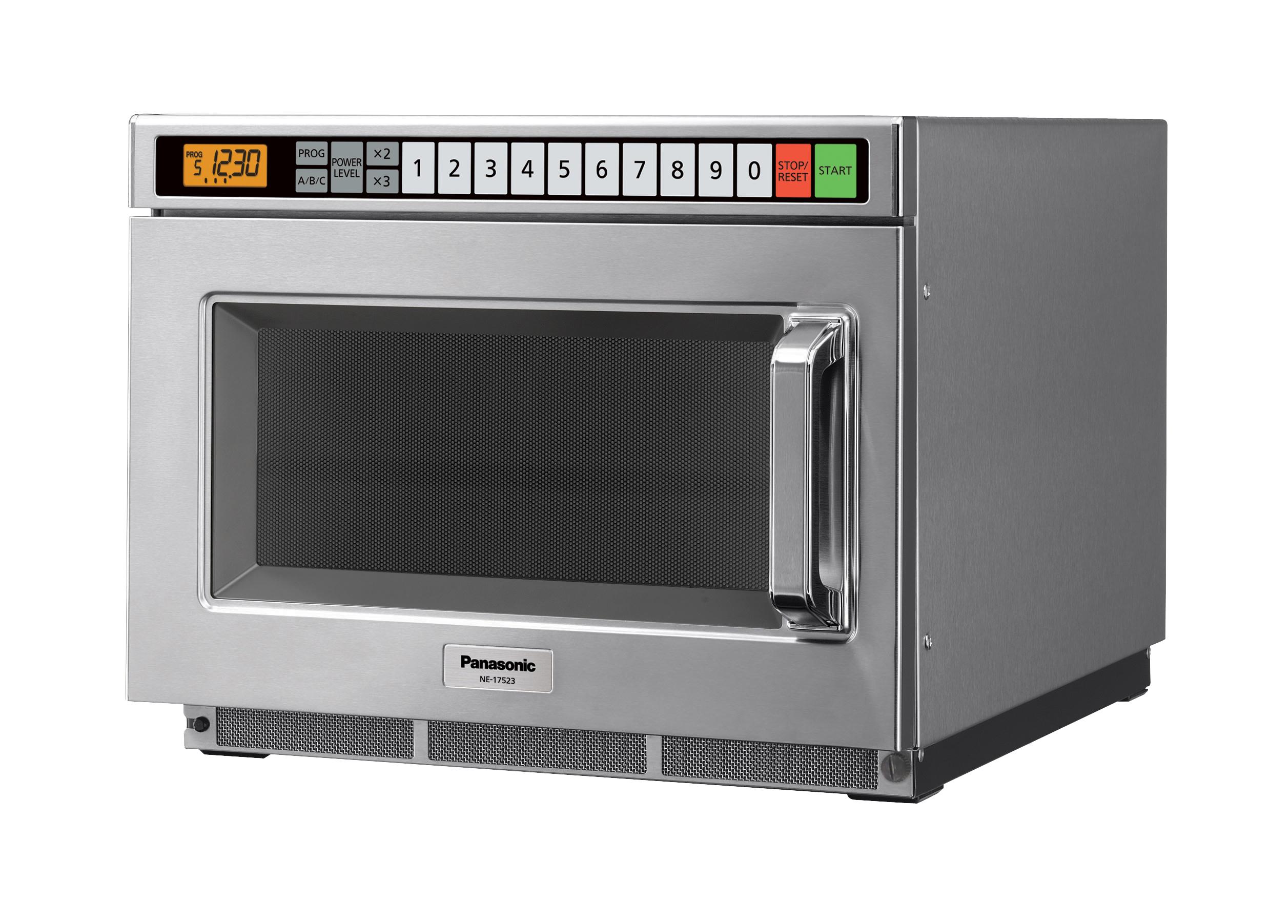 1700 watt commercial microwave oven
