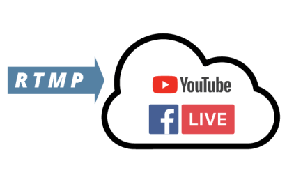 RTMP Streaming Remote Camera Youtube Live Facebook Live PTZ Direct Camera Livestreaming
