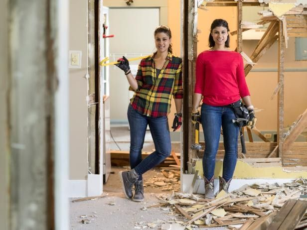 Both Lex and Alana are handy with a hammer