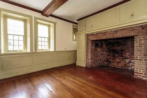 Massive fireplace