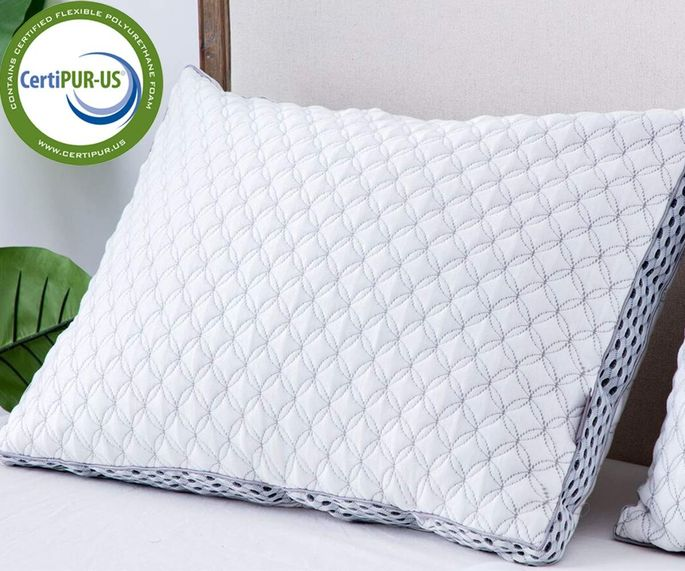 Side sleepers will find that this pillow supports their head and neck the best.