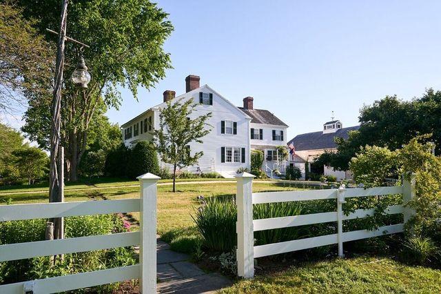E.B. White's former farmhouse
