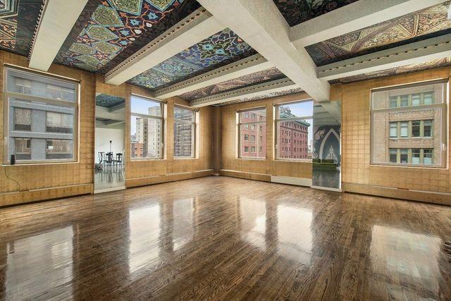 Bold ceilings