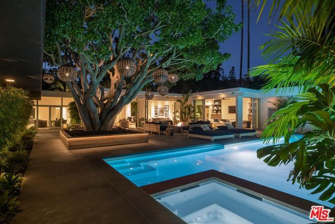Cindy Crawford's Beverly Hills home