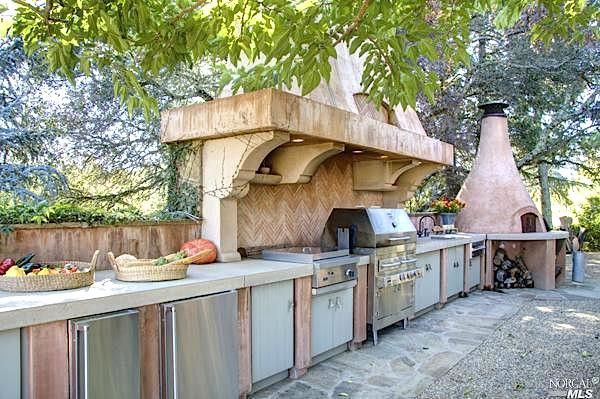 outdoor kitchens backsplashes kitchen ultimate in multi million dollar homes realtor com