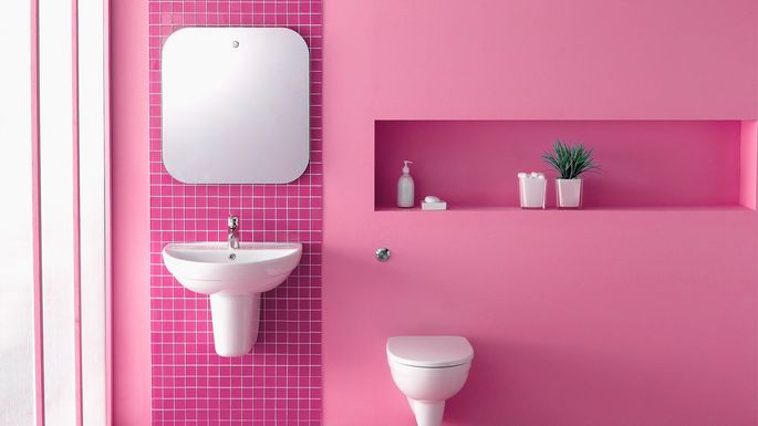 Were In Love With These 10 Pink Bathrooms
