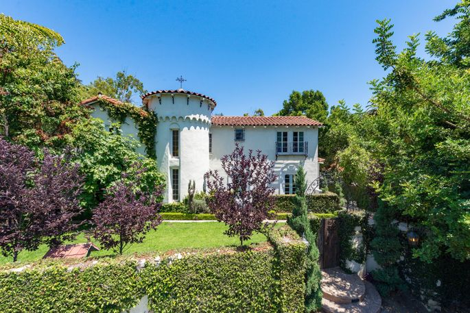 Kat Von D's Spanish-style home in the Hollywood Hills