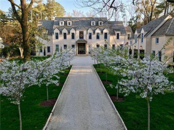 Vince Carter's Atlanta mansion