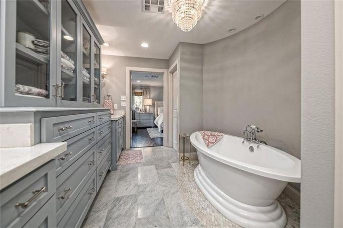 Newly remodeled master bath