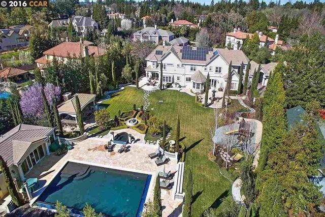 Steph Curry's home in Alamo, CA, which he recently sold for $6.3 million.