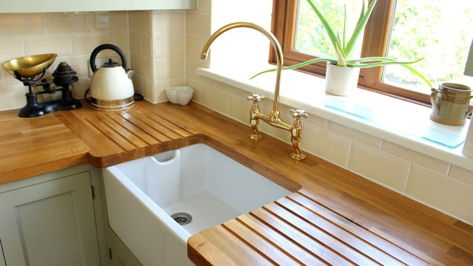 kitchen countertop cost industrial faucet wood countertops care and styles realtor com for rustic modern kitchens costs advantages