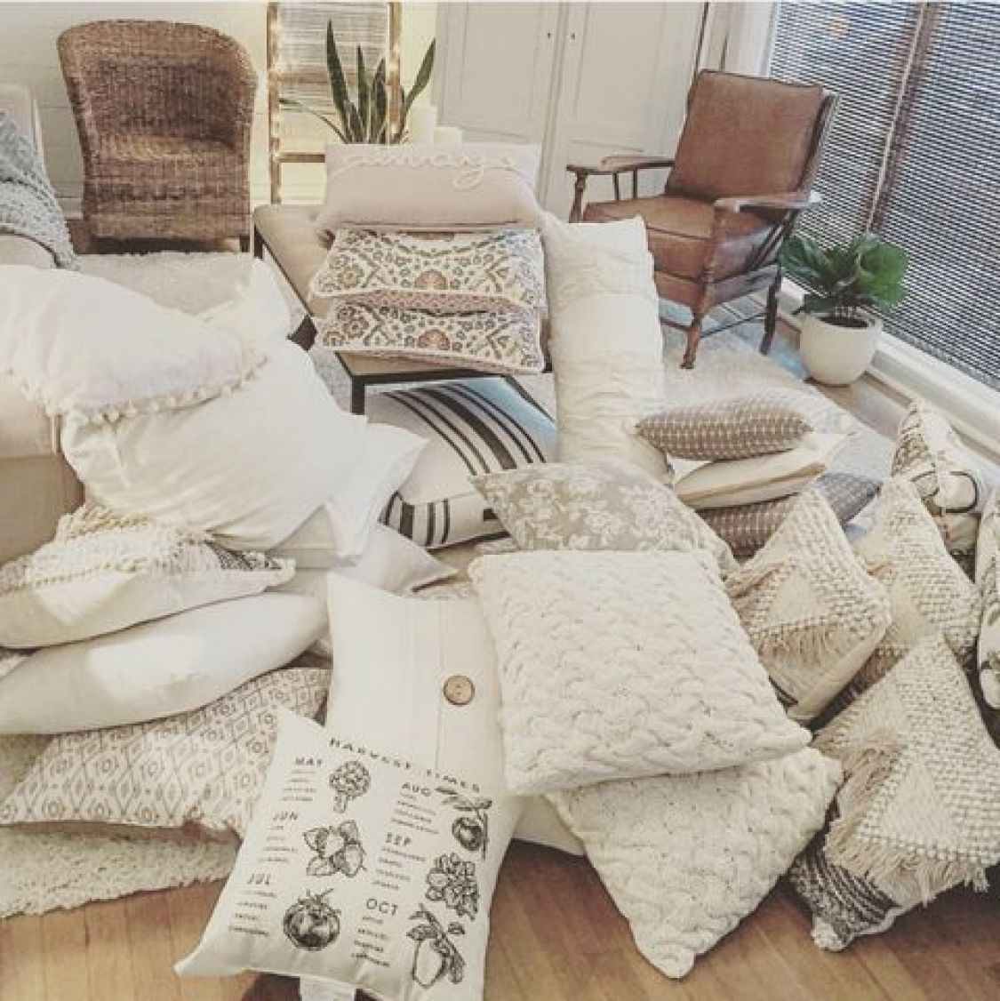 The problem with throw pillows