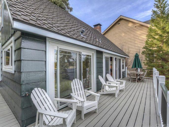 Anne Heche's Lake Arrowhead, CA, cabin