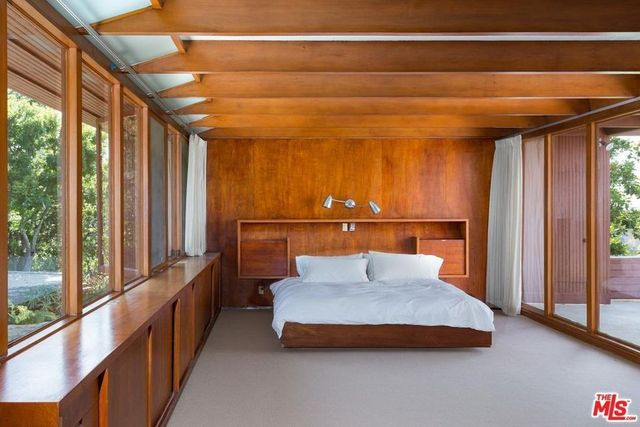 Asher house master bedroom