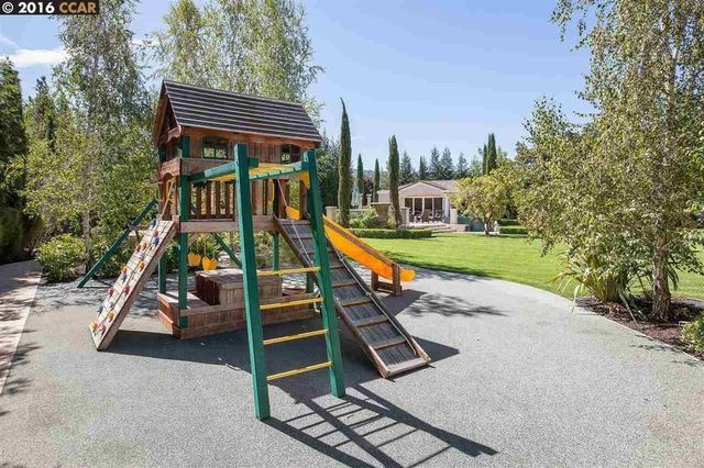 Steph Curry's kids' personal playground