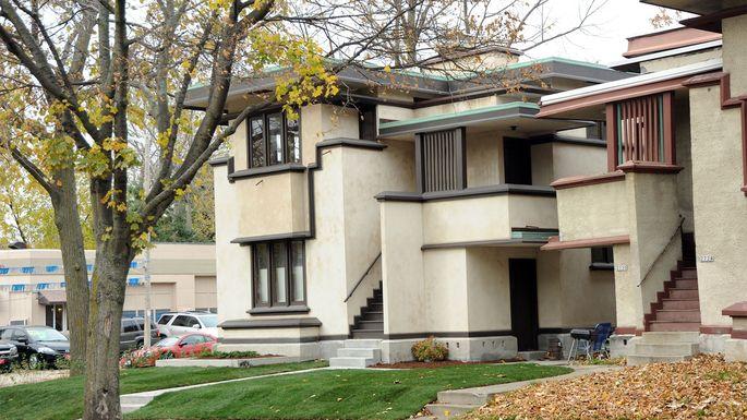 Exterior of home at 2732-34 West Burnham