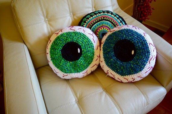 eyeball pillows