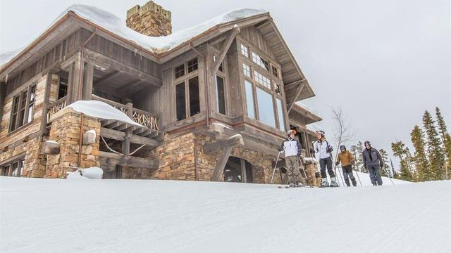 Use it as a luxe ski lodge
