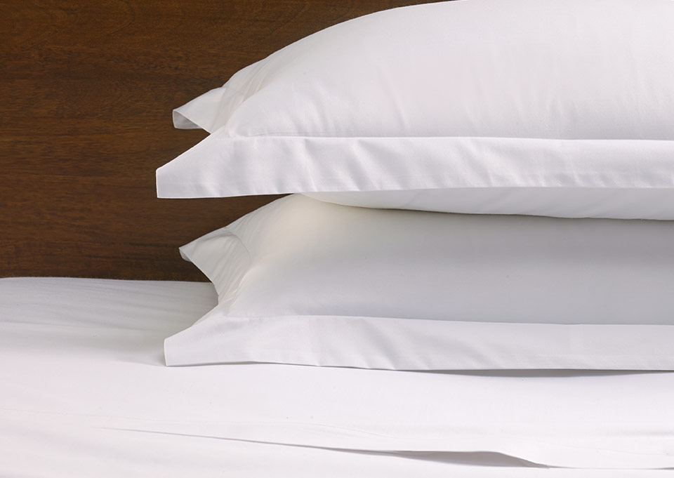 white sateen pillow shams by sofitel shop 100 cotton hotel duvet cover pillowcases and more