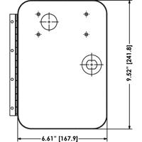 Suzo-Happ Upper Door Only for O/U Door with Embed Card