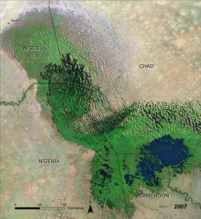 Tchadsjön 2007