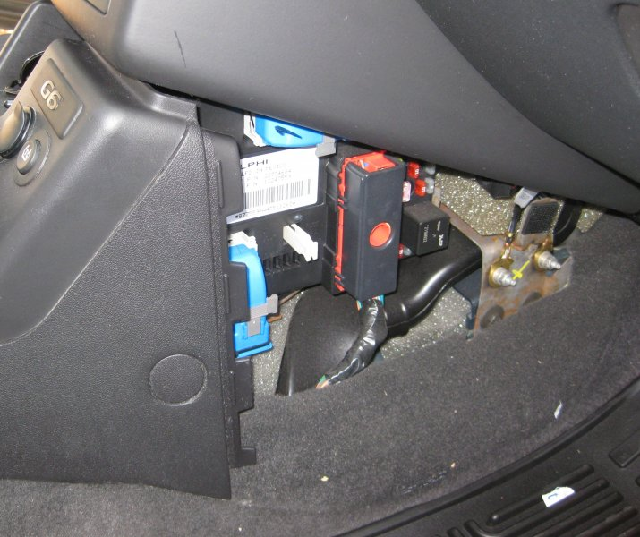 Fuse Box Mobile Pontiac G6 Ft 7800r Installation Na0q Ham Radio