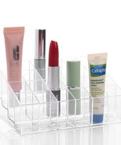 24 Grid Acrylic Makeup Organizer Storage Box Cosmetic Box