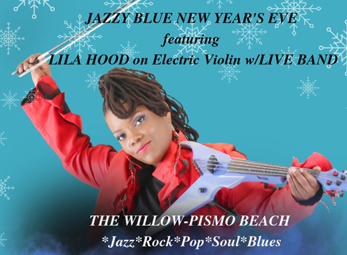 Jazzy Blue New Year's Eve with Lila Hood