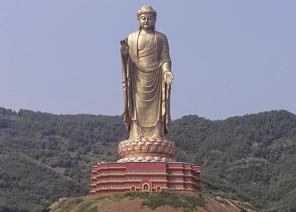 The Ushiku Daibutsu Statue