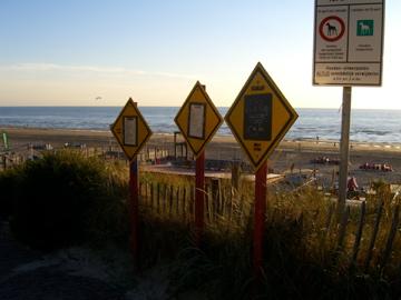 Strandopgang - afgang tis maar net hoe je het bekijkt
